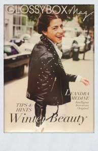 January GlossyBox Magazine