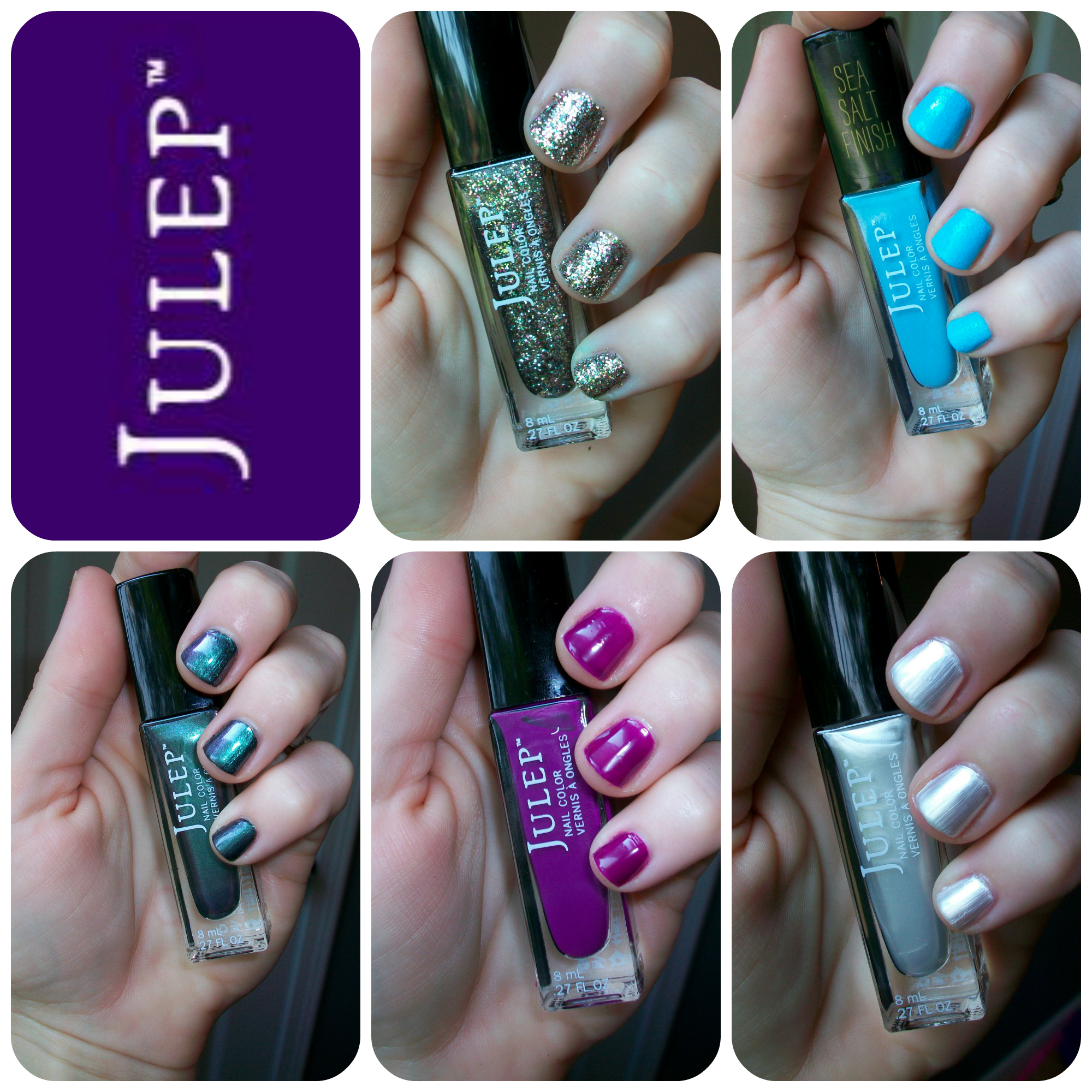 Julep Nail Polish Review + Swatches!! - Jolie Pagaille