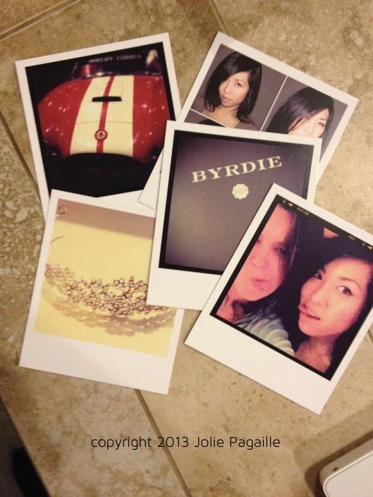 Instajunction Polaroid Style Card