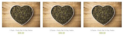 Purity Tea Catalogue